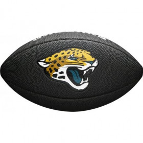 WTF1533BLXBJX_Ballon de Football Américain Wilson Soft touch NFL team logo Jacksonville Jaguars Noir