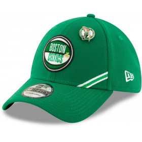 12041833_Casquette NBA Boston Celtics New Era Draft 2019 Snapback 39Thirty Vert