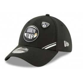 12041832_Casquette NBA Brooklyn Nets New Era Draft 2019 Snapback 39Thirty Noir