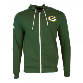 12033371_Veste à capuche Zippé NFL GreenBay Packers New Era Large Graphic Hoody Vert