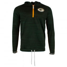 12033396_Sweat à Capuche 3/4 Zip NFL greenbay Packers New Era Engineered Hoody Vert