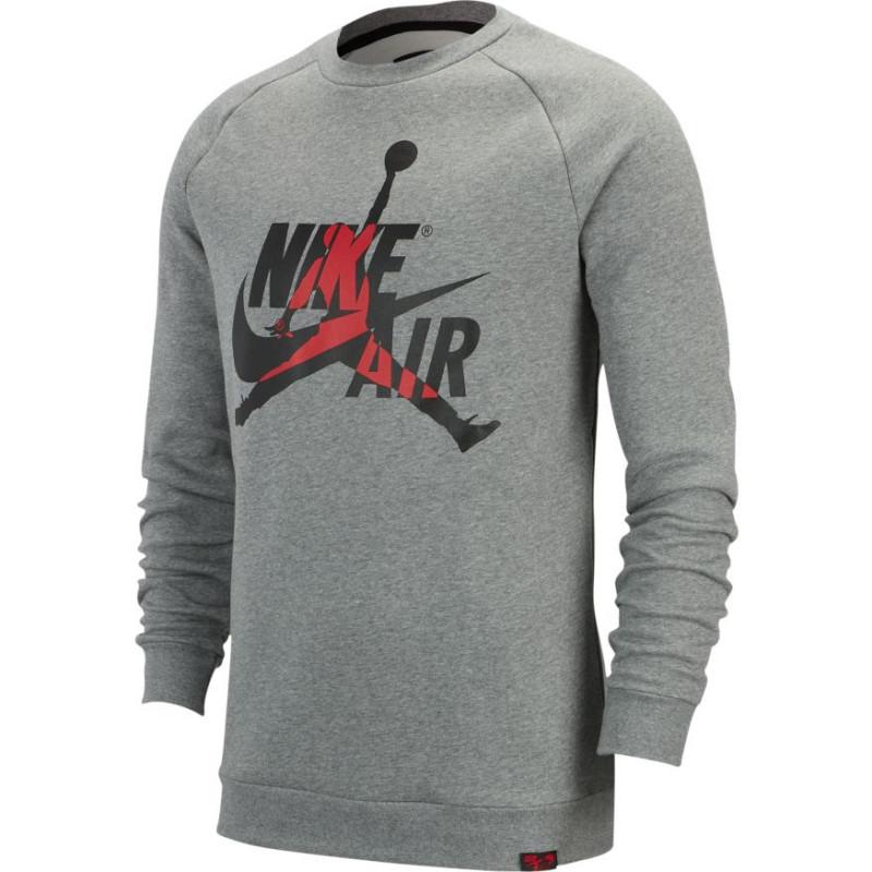 Sweat Jordan Jumpman Classics Gris pour homme