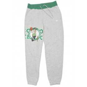 Pantalone NBA Boston Celtics New Era Graphic Overlap gris para hombre