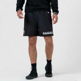 12033346_Short NFL Oakland Raiders New Era TEam logo Noir pour homme
