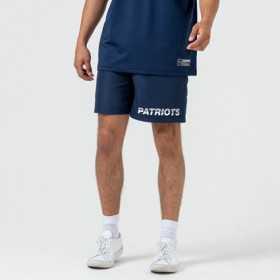 12033347_Short NFL New England Patriots New Era Team logo Bleu pour homme