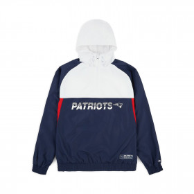 12033398_Coupe vent NFL New England Patriots New Era Colour Block Bleu marine pour Homme