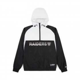 12033397_coupe vent NFL Oakland raiders New Era Colour Block Noir pour Homme