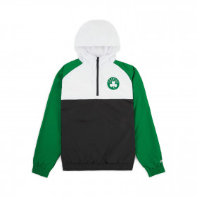 12033460_Coupe vent NBA Boston Celtics New Era Hooded Vert pour Homme