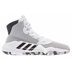 EF0869_Chaussure de Basketball adidas Pro Bounce 2019 J Blanc Pour Junior