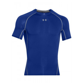 1257468-400_T-shirt de compression Under Armour HeatGear Bleu pour homme