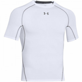 1257468-100_T-shirt de compression Under Armour HeatGear blanc pour homme