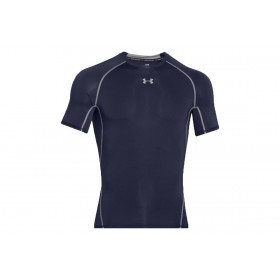 1257468-410_T-shirt de compression Under Armour HeatGear Navy pour homme