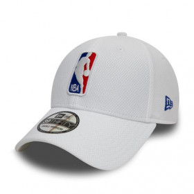 11945717_Casquette NBA Logo New Era Diamond Era 39Thirty Blanc