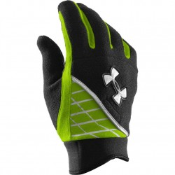 Under Armour fleece glove noir/vert