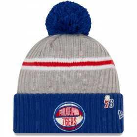 12041549_Bonnet NBA Philadelphia 76ers New Era Draft 2019 Bleu