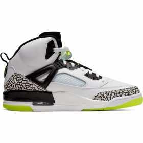 Chaussure de Basket Jordan Spizike Blanc/vert pour homme //// 315371-170