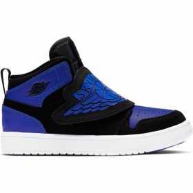 Chaussure de Basket Air Jordan 1 Mid SKY (PS) Bleu pour Enfant //// BQ7197-004
