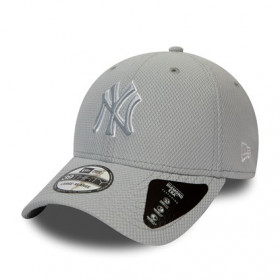 12040223_Casquette MLB New York Yankees New Era Stretch Tech Pop 39Thirty Gris
