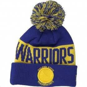 Kid's New Era Team Tonal Knit NBA Golden State Warriors Royal