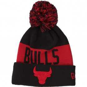 12061623_Bonnet NBA Chicago Bulls New Era Team Tonal Noir pour enfant
