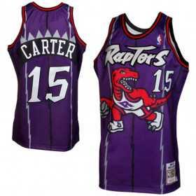 Maillot NBA Authentique Vince Carter Toronto Raptors 1998-99 Mitchell & ness Violet