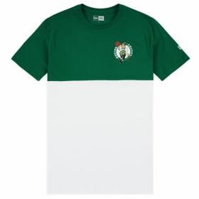 12061863_T-Shirt NBA Boston Celtics New Era Colour Block Blanc pour homme
