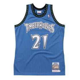 Maillot NBA Authentique Kevin Garnett Minnesota Timberwolves 2003-04 Mitchell & ness bleu