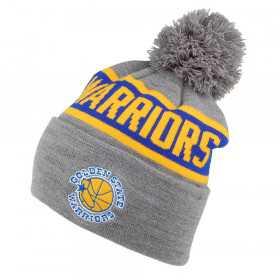 Mitchell & Ness Team Tone Knit NBA Golden State Warriors Grey