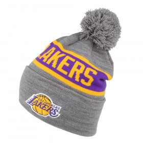 MN-HWC-INTL536-LALAKE_Bonnet NBA Los Angeles Lakers Mitchell & Ness Team Tone Gris