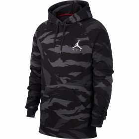 Sweat à capuche Jordan Jumpman Logo Noir Camo pour homme //// CJ7772-060