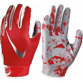 NFG18-992_Gant de football américain pour junior Nike vapor Jet 5.0 Rouge pour receveur