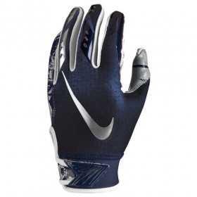NFG18-933_Gant de football américain pour junior Nike vapor Jet 5.0 Bleu marine pour receveur