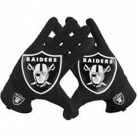 NWGM0067_Gants NFL Oakland Raiders Nike Sphère Fan Noir