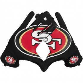 NWGM3069_Gants NFL San Francisco 49ers Nike Sphère Fan Noir