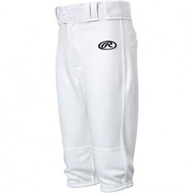 Pantalon De Baseball Rawlings Court Blanc Pour Enfant // YLNCHKPBlanc
