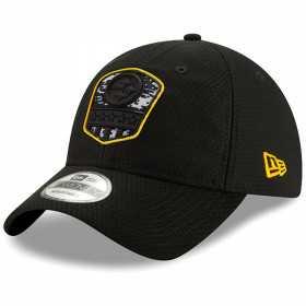 12114010_Casquette NFL Pittsburgh Steelers New Era 9Twenty On Field 2019 Salute To Service Noir
