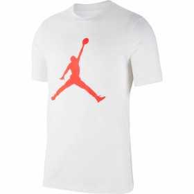 T-shirt Jordan Jumpman 19  Blanc/INFRARED pour Homme /// CJ0921-101