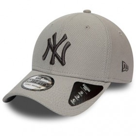 12134683_Casquette MLB New York Yankees New Era Team 39Thirty Gris