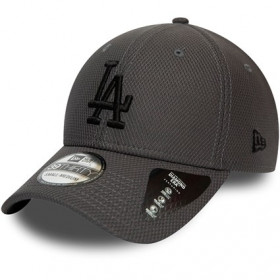 12134684_Casquette MLB Los Angeles Dodgers New Era Team 39Thirty Gris