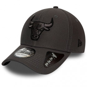12134685_Casquette NBA Chicago Bulls New Era Team 39Thirty gris