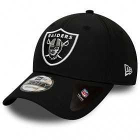 12134691_Casquette NFL Oakland Raiders New Era Winter Script 9Forty Noir