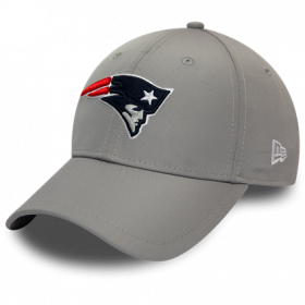 12134691_Casquette NFL New England Patriots New Era Winter Script 9Forty Gris