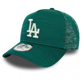 12134779_Casquette MLB Los Angeles Dodgers New Era Engineered Fit Trucker Vert