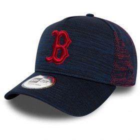 12134780_Casquette MLB Boston Red Sox New Era Engineered Fit Trucker Bleu Marine