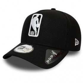 12134806_Casquette NBA Logo New Era Black Base Trucker Noir