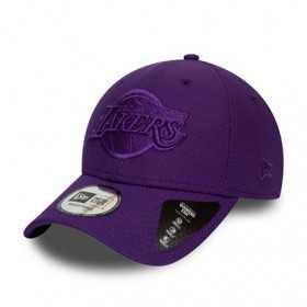 12134816_Casquette NBA Los Angeles Lakers New Era Mono Team Colour 9Forty Violet
