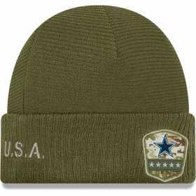 12113292_Bonnet NFL Dallas Cowboys New Era On Field Salute to Service 2019 Vert