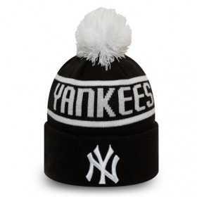 12134848_Bonnet MLB New York Yankees New Era Bobble Noir