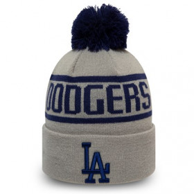 12134850_Bonnet MLB Los Angeles Dodgers New Era Bobble Gris