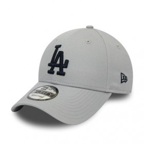 12134898_Casquette MLB Los Angeles Dodgers New Era League Essential 9Forty Gris